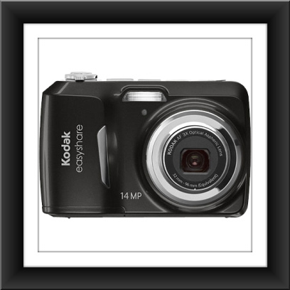 14 MP Kodak EasyShare C1530 14 Megapixel Compact Camera - Black